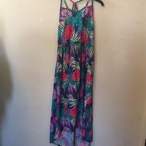 Other - Short sleeve long dress
